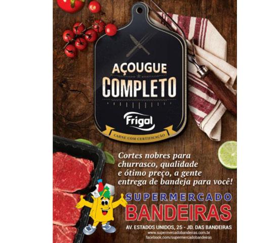 A parceria Supermercado Bandeiras e Frigol que é novidade na região